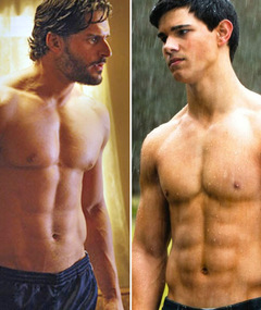 &quot;True Blood&quot; vs. &quot;Twilight&quot; -- Wolfman Ab-Off!