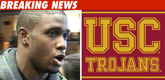 USC Football  trojans  reggie bush