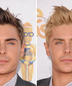 Zac Efron -- In a Hair-allel Universe!