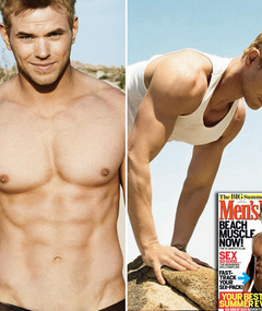 Kellan Lutz in Men's Fitness -- Just 'Cuz