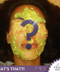 What's On Kim Kardashian's Face?!