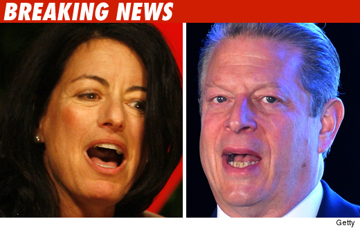 Larry David's Wife & Al Gore
