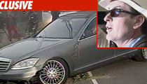 Charlie Sheen Car Theft -- Home Surveillance
