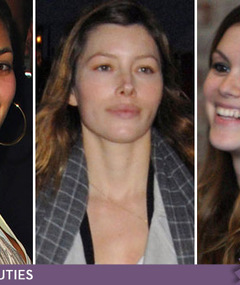 Fresh Faced Stars -- Celebs Without Makeup!