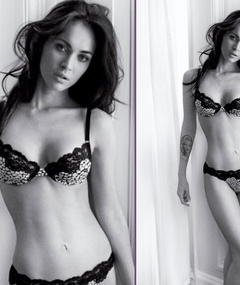 Megan Fox's Armani Ad -- Just 'Cuz