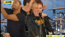 'GMA' Has No Problem with Miley's Gay 'Kiss'