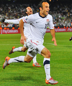 Landon Donovan -- Soccer Stud of the Day