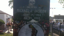 Michael Jackson Monument Unveiled