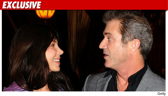 oksana grigorieva &amp; mel gibson