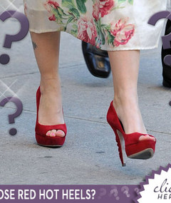 Whose Red Hot Heels?