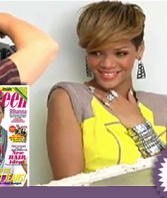 Rihanna Strikes a Pose for Seventeen