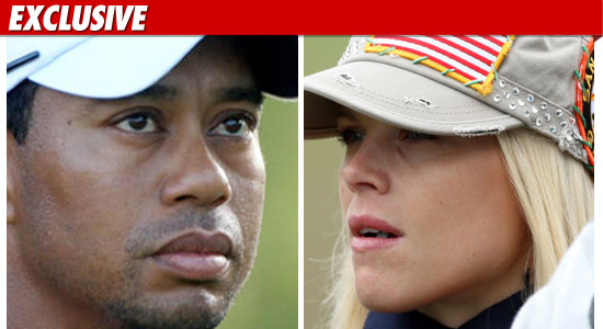 tiger woods &amp; elin nordgren