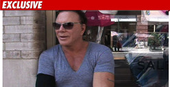 Mickey Rourke on Oksana: 'Screw the Bitch!'