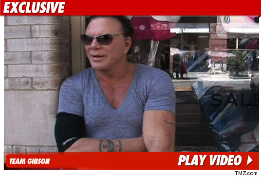 Mickey Rourke on Oksana