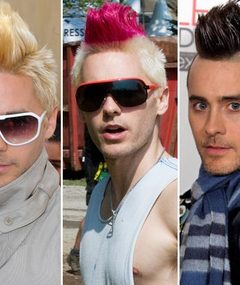 Jared Leto&#039;s Mohawk Madness -- Pick a Color!