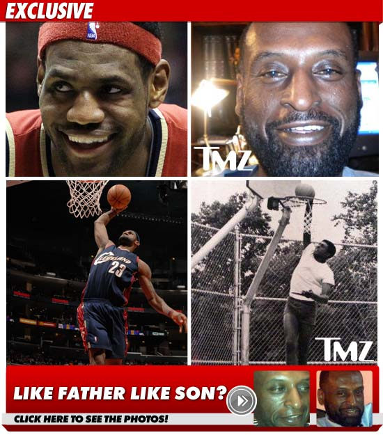 Lebron's fake as$ dad