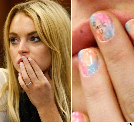 Lohan sentenced. Lindsay Lohan Sentenced to