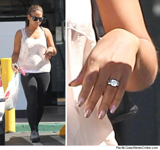Christina Milian Out in LA Today (Still wearing her ring) - The JJB