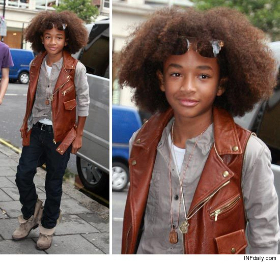 will smith son football. Will Smith#39;s son Jaden Smith