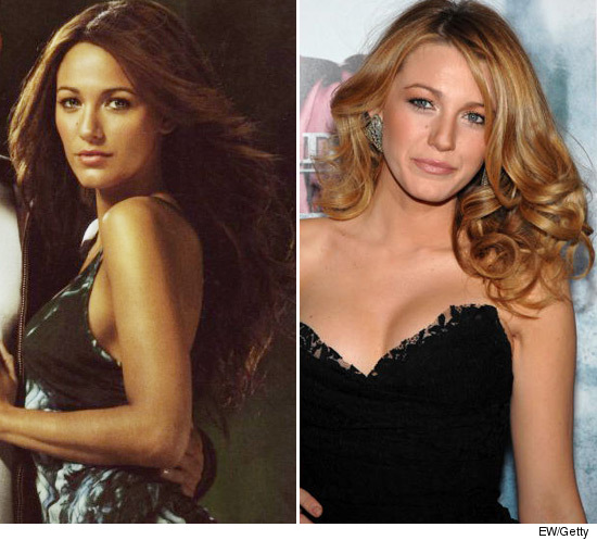 """Gossip Girl"" star Blake Lively loses her signature blonde locks in a new"