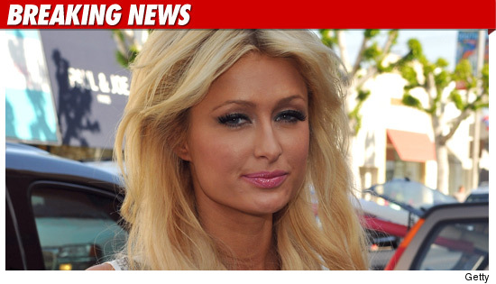 Paris Hilton Arrested