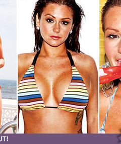 Jwoww Does Maxim ... Belly Button Doesn't?