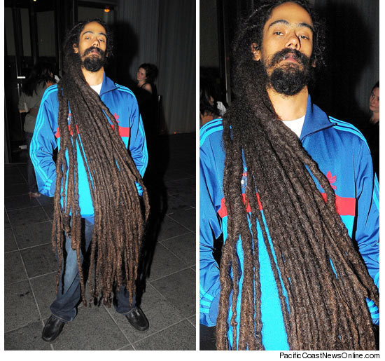 Damian marleys dreadlocks music icon bob marleys youngest son damian marley is definitely the hair to his dads fortune thecheapjerseys Gallery
