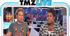 TMZ Live: Oksana, Lohan, and David Boreanaz