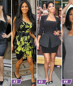 Scherzinger&#039;s London Looks -- Pick a Fave!