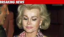 Zsa Zsa Gabor in Critical Condition