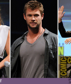 Comic-Con: Hollywood Hotties & Hero Hunks!
