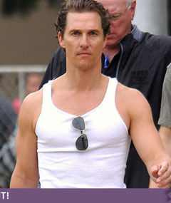 Matthew McConaughey Gets Tanked -- Just &#039;Cuz