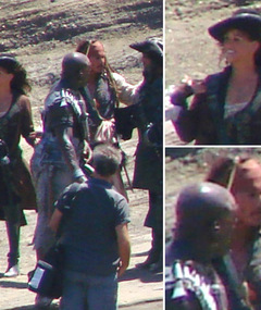 &#039;Pirates 4&#039; First Look -- Penelope Cruz on Set!