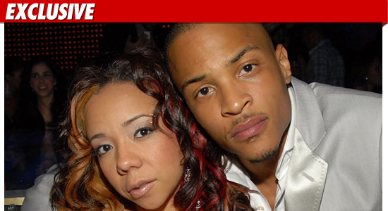 the Knot in Secret Wedding Ceremony - T.I. Married