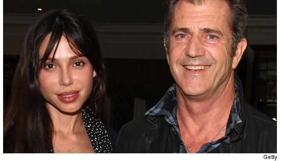 Mel Gibson & Oksana