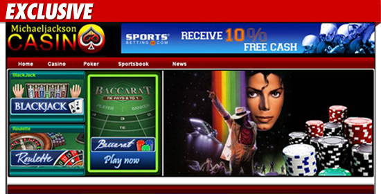 Según TMZ Casino Michael Jackson – Jugando con fuego == Michael Jackson Casino — Playing with Fire