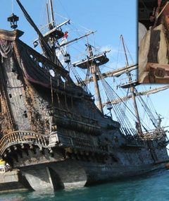 'Pirates 4' -- Check Out the New Ship!