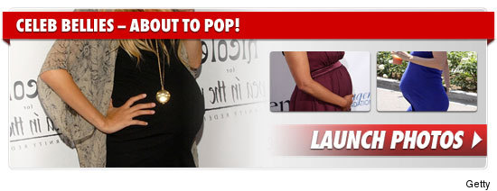 Celebrity Pregnancies 2010