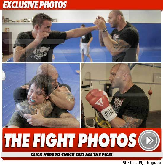Dave Batista MMA Training