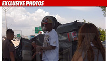 Dennis Rodman -- The Crash-termath Photos