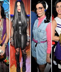 Katy Perry's Crazy Costumes -- Pick a Fav!