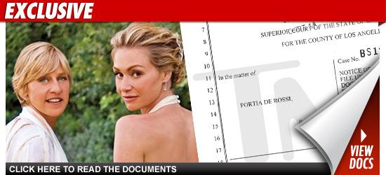 Ellen DeGeneres Wife - Portia de Rossi Name Change