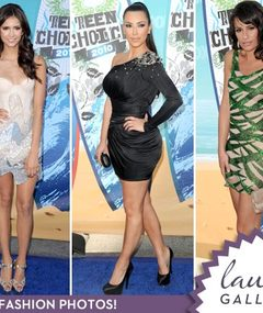 Teen Choice Awards -- Blue Carpet Fashion!
