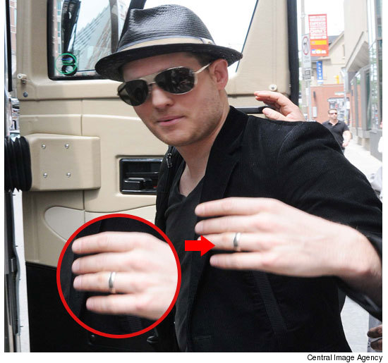 Michael Buble Engagement Ring