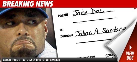 Johan Santana Rape Case