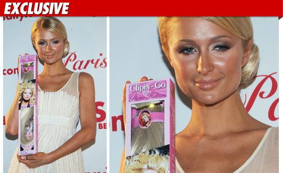 Paris Hilton Hair Extensions