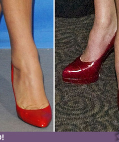 Guess Whose Ruby Red Shoes!