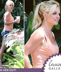 Britney Spears -- Back in the Studio!