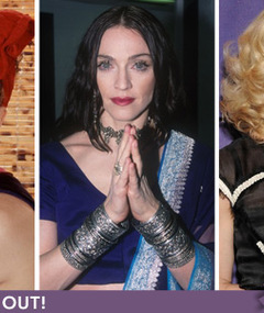 Madonna's B-Day: Material Girl Over the Years