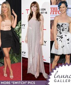 Brad Pitt's Leading Ladies -- Style Showdown